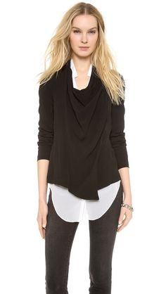 DKNY Pure DKNY Asymmetrical Jacket
