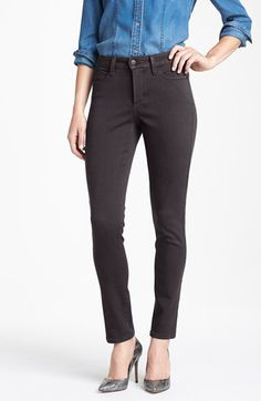 NYDJ NYDJ 'Alina' Colored Stretch Skinny Jeans (Regular & Petite) available at #Nordstrom