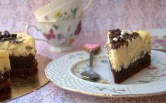 Tarta Brownie de Chocolate y Queso