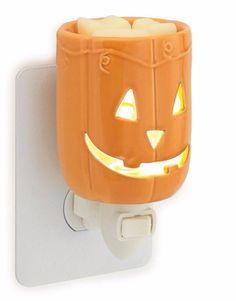 Candle Warmers Pluggable Fragrance Warmer, Jack O'lantern Pumpkin Halloween Fall #CandleWarmersEtc