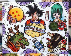 Dragon Ball Z Flash Sheet