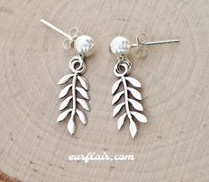 Best Wing Jewelry .925 Sterling Silver HalloweenCoffin Stud Earrings for Children and Teens