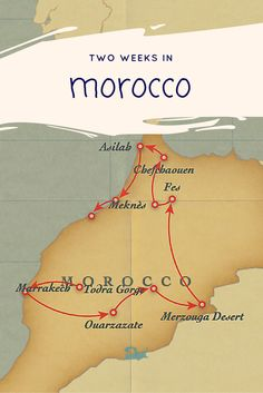 This two week itinerary of Morocco organizes the best of Morocco in two weeks. Follow along and plan your own trip with suggestions for tours, places to go in Morocco, and travel tips.