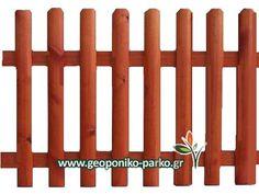 Κάγκελα - Φράχτες : Φράχτης ξύλινος μισόξυλο εμποτισμένος - 80X180cm