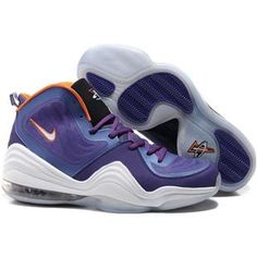 low priced 89b0d dd9fe Nike Air Penny 5 Penny Hardaway Shoes Phoenix Suns Purple Sport Purple,  Discount Nikes,