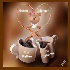 Pin von m p auf grüße: guten morgen Good Night Cat, Working Too Much, Morning Greetings Quotes, Morning Quotes, Cat Treats, Emoticon, Kids Playing, Free Food, Good Morning