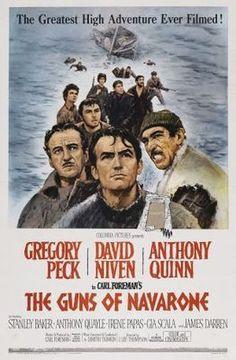 The Guns of Navarone (1961) movie #poster, #tshirt, #mousepad, #movieposters2
