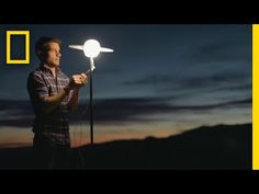 National Geographic: Watch This Guy Build a Massive Solar System in the Desert | Short Film Showcase
