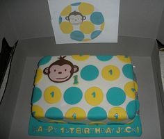 monkey cakes mod | Mod Monkey Cake | Flickr - Photo Sharing!