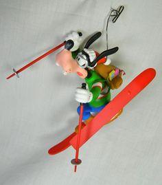 "Vintage Grolier Disney Collectable Christmas Ornament, ""Goofy""-In Original Box"
