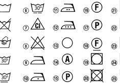 Mosási jelek dekódolása: melyik szimbólum mit jelent a ruha címkéjén?