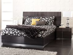 Mondiana Bed by Dania. WANT!! Anyone have $1000 I can have? :P