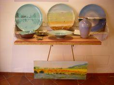 #ceramics + a painting
