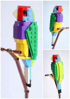 Lego birds: Finch