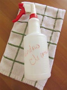 Homemade Window Cleaner (so easy!)