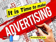It's right time to make advertising for your handmade items and creativity 😊😋😉 The best place for this is our Free classifieds ads for your items in Ireland. ♥ Publish your ads just now ♥ You can always change it or remove it if you are register. Selling Handmade Items, Advertising, Ads, Right Time, How To Remove, How To Make, The Good Place, Ireland, Irish