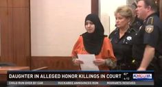 "Islamic Honor Killing - Texas: Muslim told sister, ""cannot wait until my dad puts a bullet between your eyes"""