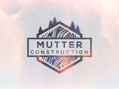 Dribbble - Mutter Construction by Ian Williams