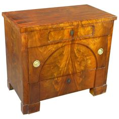 Early 19th Century Biedermeier Petite Commode or Chest of Drawers