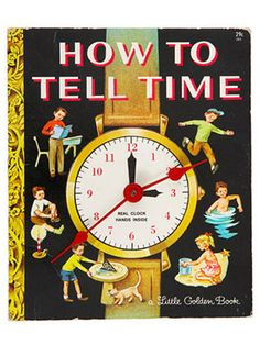 Turn an old children's book into a clock. Make a classic come to life by drilling through both the front and back covers. Prop on a shelf, or add a picture hanger to the back with superglue.  http://www.countryliving.com/crafts/projects/buy-or-diy-projects?click=main_sr#