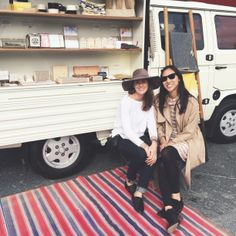 @Carrie Caillouette of Half Hitch Goods and Christine Trac of Abacus Row put their awesome collection of gifts together and collaborated on a trunk show for Valentine's Day.