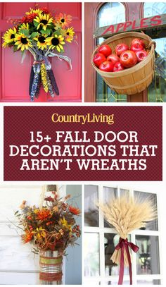 1397 Best Fall Crafts And Decor Images On Pinterest Halloween
