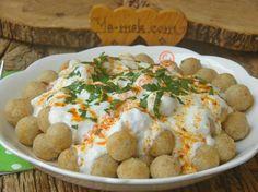 Yapımı oldukça kolay, lezzetli, hafif ve doyurucu bir yemek tarifi...