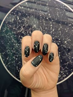 Pretty Polished: How to master astrology-inspired nail art in the new year. Pretty Polished: How to master astrology-inspired nail art in the new year. Cute Nails, Pretty Nails, Hair And Nails, My Nails, Kajal, Wedding Manicure, Nail Polish, Beauty And Fashion, Nail Art Diy