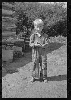 Son of William Huravitch, Truax Township, Williams County, North Dakota. By Photographer Russell Lee, 1903-1986