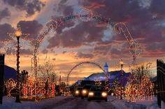 Holiday Lights at Thanksgiving Point - Lehi, Utah