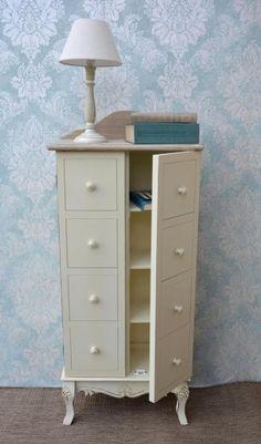 Cabinet din lemn de plop si MDF, Rimini RI114 #homedecor #interiordesign #inspiration #decoration #bedroomdecor Shabby Chic Style, Dresser, Stil Vintage, Cabinet, Interior, Furniture, Design, Home Decor, Clothes Stand