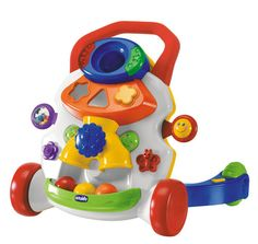 <font size=3>The Baby Activity Walker will help your baby stand up and take those important first steps.</font> <blockquote> <li>All your baby has to do is hold onto the handle and start walking, and the toy will immediately play an amusing melody.</li>  <br><li>When your baby stops walking, the music stops playing, encouraging your baby to take a few more steps.</li>  <br><li>The Baby Activity Walker doubles as an activity center that will stimulate your baby's imagination and coordination…