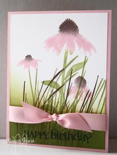 Inspired by Nature from Stampin' Up!  sooo pretty and soft looking