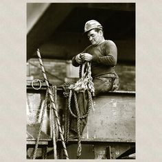 An ironworker does some detail work
