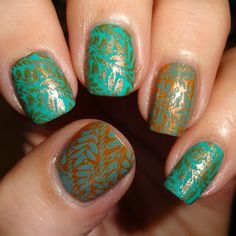 Wendy's Delights: MoYou Nails Plate 403 & MoYou Nails Stamping Polishes: Majestic Violet, Crimson Sky, Burgundy, Emperor's Gold, Persian Turquoise & Celestial Blue