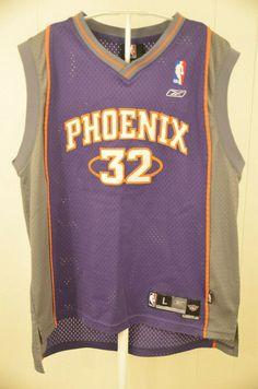5e2d5842b7d Authentic Reebok Phoenix Suns Jersey #32 Amare Stoudemire NBA Kid Large  14-16 #