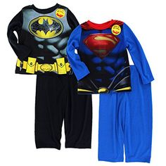 Batman v Superman Toddler 2fer Poly Pajamas Set (3T, Batman v Superman) DC Comics http://www.amazon.com/dp/B018UQD1NS/ref=cm_sw_r_pi_dp_WfK2wb0PTQRTS