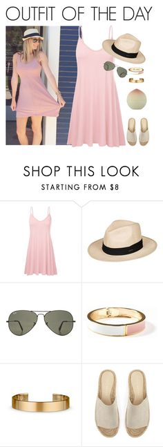"""""""OOTD #27"""" by ella178 ❤ liked on Polyvore featuring Roxy, Ray-Ban, Old Navy, Le Gramme, TONYMOLY, Mint Velvet, ootd, summerstyle, summerlook and tonymolyminipeachlipbalm"""