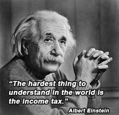 Confused by taxes? You're in good company ...