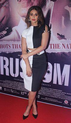 Ileana D'Cruz in separates by Karn Malhotra.