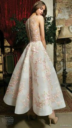 Cosmobella 2019 Wedding Dresses Cosmobella 2019 Wedding Dresses,Kleider cosmobella 2019 bridal sleeveless illusion jewel sweetheart neckline full embellishment pretty romantic blush tea length short wedding dress button lace back bv — Cosmobella Wedding Dress Buttons, Lace Wedding Dress, Wedding Dress Styles, Lace Dress, Dress Up, Tee Length Wedding Dress, Wedding Dress For Short Women, Short Bride, Tea Length Wedding