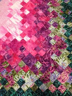 The Beyondness of Things: Blooming Nine Patch Quilt - Easy Four Patch Versio...                                                                                                                                                      More