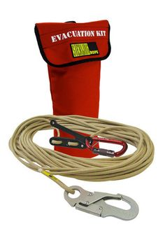 The Bucket Evacuation is a simple, safe solution for getting out of an aerial lift and back to the ground in the event of an emergency or power failure. Survival Tools, Wilderness Survival, Survival Prepping, Cool Survival Gear, Car Survival Kits, College Survival, Survival Supplies, Survival Stuff, Survival Equipment