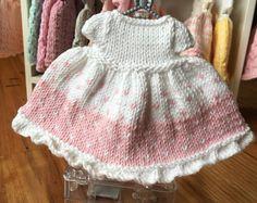 Robe tricotée pour ours en peluche