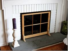 9 Dumbfounding Useful Tips: Black Fireplace Mid Century fireplace insert basements.Fireplace Built Ins Lighting fireplace living room mounted tv.Fireplace Shelves How To Build. Fireplace Windows, Tv Over Fireplace, Paint Fireplace, Fireplace Cover, Shiplap Fireplace, Farmhouse Fireplace, Fireplace Hearth, Fireplace Surrounds, Craftsman Fireplace
