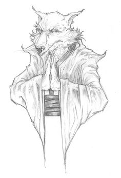 TMNT - Splinter by *ChrisOzFulton on deviantART