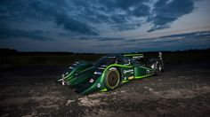 Drayson Racing sets EV land speed record. Electric-powered Lola hits 204 mph.