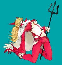 Tags: Anime, Pixiv Id 3305835, ONE PIECE, Sadi-chan, Red Nails, Licking Lips, Staff