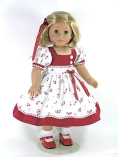 18 inch Doll Clothes fit American Girl Dress by LidiDesigns