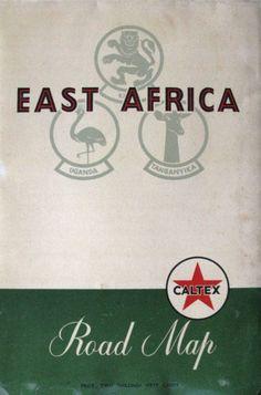 Caltex East Africa Map 1960